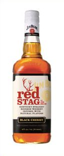 Red Stag by Jim Beam Bourbon Whiskey - Black Cherry Infused Bourbon Whisky