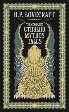 John Coulthart's artwork for the leather-bound edition of The Complete Cthulhu Mythos Tales.
