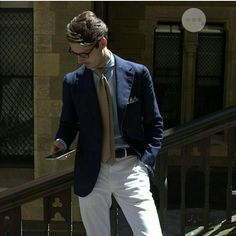 With Spring not too far away perhaps it's time to start thinking about your summer wardrobe? 📸 courtesy of @stevecalder @calderofficial  #menstyle #mensfashion #dapper #menslook #menswear #mensfashionpost #fashionstyle #stylefashion #gentleman #gentlemanstyle #mens #style #dapperstyle #suit #dappermen #mensfashion #tie #spring #denimshirt #italianstyle