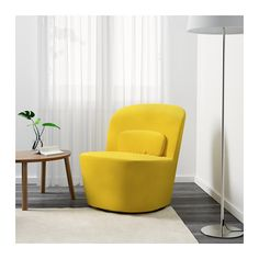 STOCKHOLM Swivel chair - Sandbacka yellow