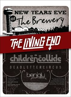 The Brewery - NYE Poster Poster Designs, New Years Eve, Nye, Brewery, Creative, Design Posters