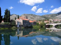 A picture-perfect postcard shot of Trebinje- the southern most town in Bosnia and Herzegovina.
