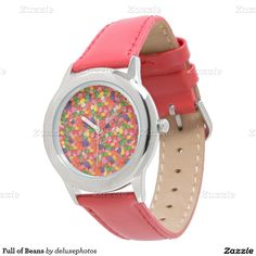 Full of Beans Wrist Watch