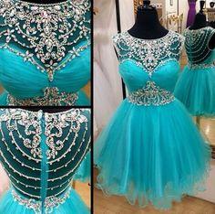 New Arrival Beading Short Prom Dresses,Charming Homecoming Dresses,Homecoming Dresses,SC73