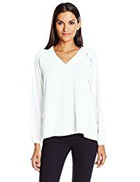 New NY Collection Women's Solid Long Sleeve Pullover With Ruffle Raglan online. Find the perfect Alternative Tops-Tees from top store. Sku MIAQ60158VBEU35368