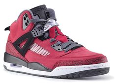 NIKE AIR JORDAN SPIZIKE Raging Bull [GYM RED/BLACK-DARK GREY-WHITE] 315371-601