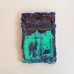 Riny Van Cleef, Oktober 2014, olieverf, 20 x 14 cm.