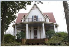 Looking To Visit Haunted Real Estate Check Out The Blackwell House Memphis Tn The Blackwell