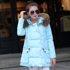 Fasicat 2015 Women Winter Mid Long Thick Warm Jackets Brand Outdoor Parkas Fur Collar Hooded Pockets Zipper Wadded Coats 180186-in Down & Parkas from Women's Clothing & Accessories on Aliexpress.com | Alibaba Group US $99