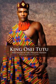 King Osei Tutu (circa Osei Tutu was the founder and first ruler of the Asante nation, a great West African kingdom now known as Ghana. He tripled the geographic size of Asante and the kingdom was a significant power that endured for two centuries.