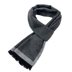 4978c59e66c6a [Peacesky]2017 New Brand Winter Men's gift Gray Striped Scarves Business  gentleman,Cashmere Scarf ,Men Scarves,Bufanda