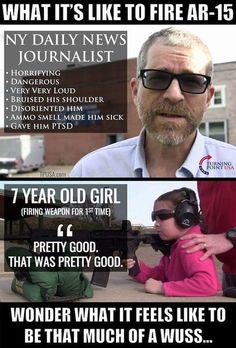 I love the video of this dad teaching his daughter to shoot his AR.