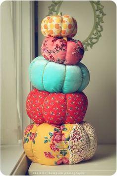 small = pincushion, large = ottoman :)
