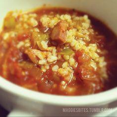 Maggie's Bites - Italian Sausage Soup
