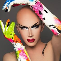 Why You Gagging: Photo Drag Makeup, Sexy Makeup, Rupaul Drag Race Winners, Drag Me To Hell, Drag Queen Outfits, Best Drag Queens, Makeup Portfolio, Club Kids, Without Makeup