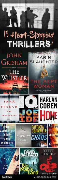 Scary thriller books to read.  These heart-stopping books worth reading will keep you up at night!