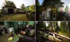 Haunting photos of a Washington State ghost town | The town of Lester,in central Washington State, was once a service stop for trains running from Seattle to Minneapolis on the Great Northern railway line, but it is now a ghost town.