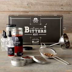 The CYOB kit brings the satisfaction of making fine tinctures and extracts into…
