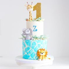 2 Healthful Breakfast Recipes For Fat Reduction: Delectable Sha Bang Eggs And Do-it-yourself Muesli - My Website Jungle Birthday Cakes, Jungle Theme Cakes, Baby Boy 1st Birthday Party, Safari Cakes, First Birthday Cakes, Baby Shower Cakes, Eva Instagram, Birthdays, Christening