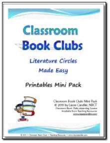 ($) Classroom Book Clubs Mini Pack. All printables used in Laura Candler's 5-lesson Classroom Book Clubs digital course.