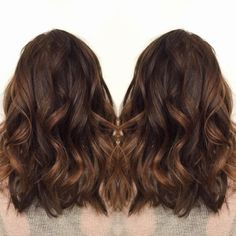 brunette highlights - Google Search
