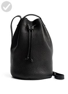 Baggu Drawstring Purse, Black, One Size - Little daily helpers (*Amazon Partner-Link)