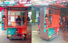 Food Service Jobs, Food Cart Design, Mobile Stand, Food Stall, Kiosk, Food Truck, Bubbles, Food Carts, Food Trucks