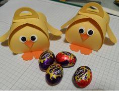 Sam's Sentiments: Easter Chick Gift Box