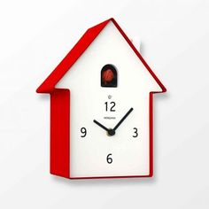 Diamantini And Domeniconi Meridiana Cuckoo Clock Is A Very Cool Funky Italian Designed That Resembles Little House The Meridiani