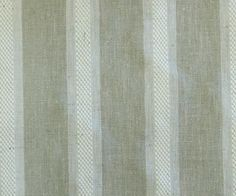 Linen Beige Broad Stripe Fabric VL By The Yard Curtain Fabric Upholstery Curtain Panel Drapery Fabric Window Treatment Jacquard Weave from FabricMart on Etsy Studio