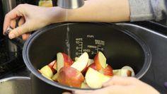 Compote de pomme cuiseur à riz