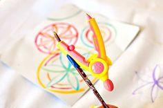 How to Make Math Fun (Compass Art)