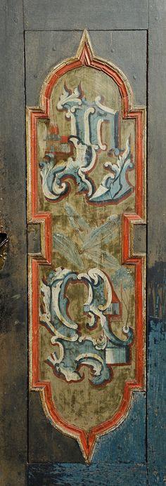 Rokoko Klaedeskab Detail