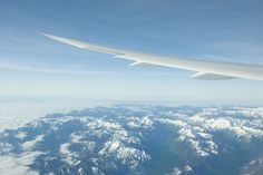Flying high with the #Boeing 787  Photo taken above China