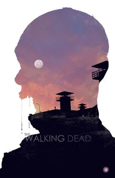 The Walking Dead Posters. Three zombie poster illustrations of The Walking Dead by Big Bad Robot the imagery by Michael Rogers. This poster series is The Walking Dead Poster, Carl The Walking Dead, Walking Dead Zombies, Poster Art, Design Poster, Graphic Design, Poster Designs, Grid Design, Poster Ideas