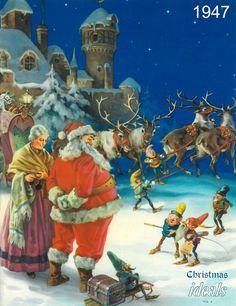 1947 Vol 4 Ideals Magazine Christmas Issue Xmas Poems Carols Illustrations