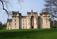 Scotland is full of history, culture and natural beauty. Here we share 12 castles to visit in Scotland that simply ooze history. Scotland Castles, Scottish Castles, Castle Ruins, Castle House, Castle Fraser, Aberdeenshire Scotland, Castles To Visit, Harbor Town, Ancient Buildings