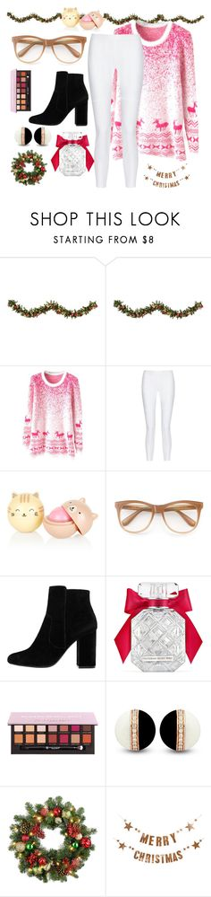 """X-MAS (pt 2)"" by ariahnac-33 ❤ liked on Polyvore featuring Improvements, 10 Crosby Derek Lam, Wildfox, MANGO, Victoria's Secret and Bloomingville"
