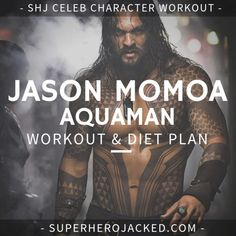 The Jason Momoa Workout Routine – How to train like Conan, Khal Drogo and Aquaman Push Up Workout, Workout Diet Plan, Workout Days, Weight Training Workouts, Gym Workouts, Hero Workouts, Workout Splits, Lifting Workouts, Workout Routines