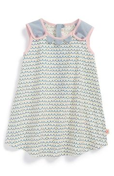 Billieblush Wave Print Poplin Dress (Baby Girls) available at #Nordstrom