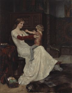 Albert Edelfelt: Queen Bianca, 1877. Ateneum Art Museum, coll. Linder. Photo…