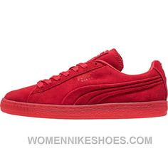 low priced ad0f5 9733f Puma Suede, High Risk, Emboss, Platform, Free Shipping, Red, Emboss