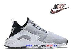 Chaussure de course à pied Nike Air Huarache Ultra Breathe pour Femme Blanc  Noir 819151_100-
