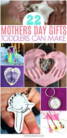 mothers day gifts from kids diy toddlers