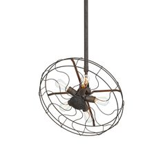 Fashioned in the shape of an old-fashioned fan, this charming light piece will brighten any industrial chic or vintage-inspired living space. Handsomely crafted from aluminum, this Momentous Pendant Li...  Find the Momentous Pendant Light, as seen in the Rustic Industrial Living Collection at http://dotandbo.com/collections/rustic-industrial-living?utm_source=pinterest&utm_medium=organic&db_sku=110635