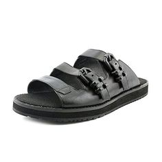 6794bfc7d4dbf Kenneth Cole NY Hanson Women US 10 Black Fisherman Sandal -- For more  information
