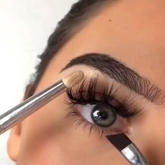 Super how to makeup eyebrows eyeliner ideas Makeup Tutorial Foundation, Eyebrow Tutorial, Foundation Contouring, Makeup Foundation, Perfect Eyebrows Tutorial, Easy Contouring, Winged Eyeliner Tutorial, Eye Makeup Tutorials, Makeup Ideas