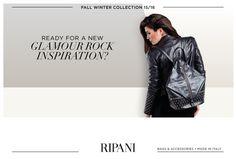 Fall Winter Collection - model RADICE #fashioninspiration #backpack #rebel #style