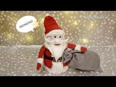 Easy Sock Snowman Crafts tutorial - YouTube