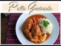 Receta de Pollo Guisado por recetas chapinas y mas. | Recetas Mundo Chapin